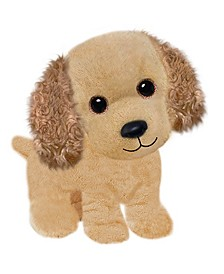 First and Main - Wuffles Cocker Spaniel Plush Dog, 7 Inches Sitting