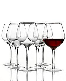 Lenox Tuscany Red Wine Glasses 6 Piece Value Set