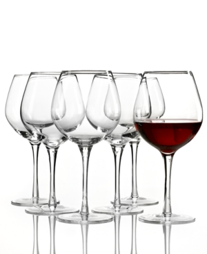 Lenox Tuscany Red Wine Glasses 6 Piece Value Set