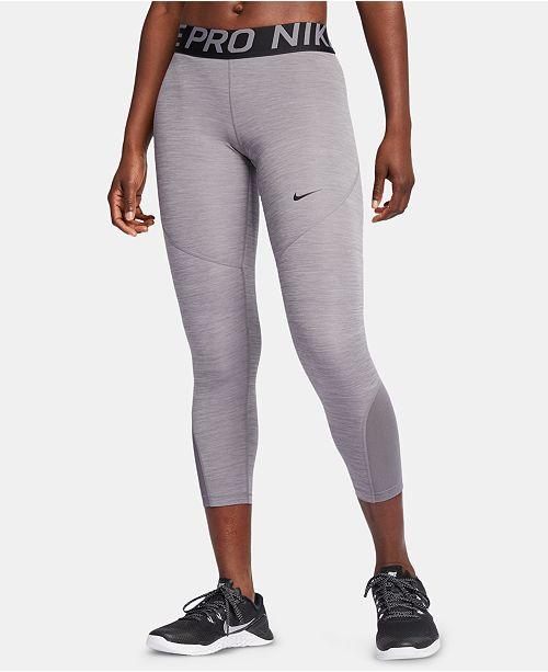 398c515a13de7 Nike Pro Cropped Leggings & Reviews - Pants & Capris - Women - Macy's