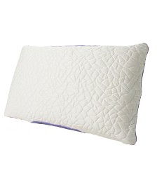 Protect-A-Bed Queen Therm-A-Sleep Snow Memory Foam Clusters Pillow ft. Nordic Chill Fiber and Tencel Collection