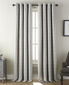 "Fuller Grommet Single Curtain Panel, Aluminum, 54 x 84"""