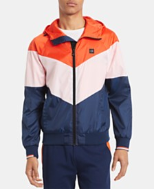 Calvin Klein Men's Athleisure Colorblocked Jacket
