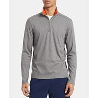 Calvin Klein Liquid Touch Mens Quarter-Zip Sweater