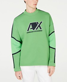 A|X Armani Exchange Men's Long-Sleeve Logo T-Shirt