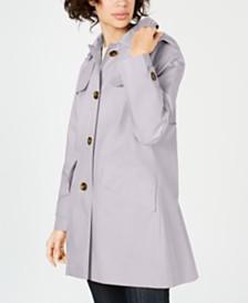 London Fog Hooded Raincoat
