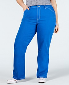Trendy Plus Size Carpenter Pants