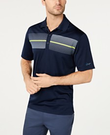 Attack Life by Greg Norman Colorblocked Polo