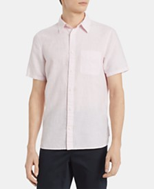 Calvin Klein Men's Chambray Pocket Shirt