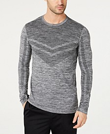 Men's Colorblocked Seamless Long-Sleeve T-Shirt, Created for Macy's