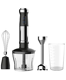 Megachef 4-in-1 Multipurpose Hand Blender with Speed Control