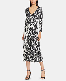 American Living Floral-Print Dress