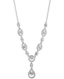 """Givenchy Crystal Lariat Necklace, 16"""" + 3"""" extender"""