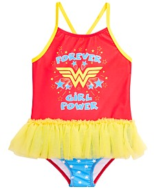 Dreamwave Toddler Girls 1-Pc. Wonder Woman Graphic Swimsuit
