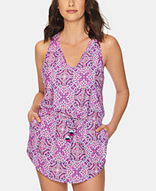Vera Bradley Dream Tapestry Printed Cover-Up Tunic