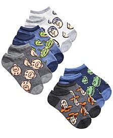 Little Boys 5-Pk. Toy Story No-Show Socks
