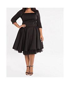 Eleven60 Black Book Dress Plus