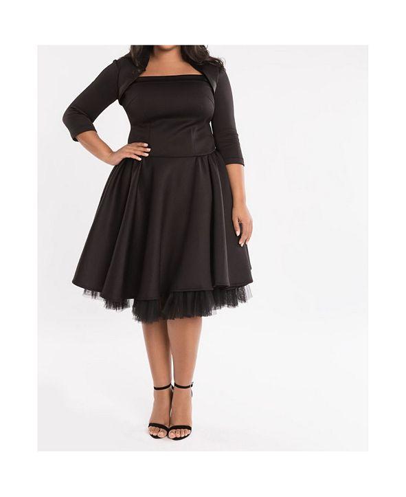 Eleven 60 Eleven60 Black Book Dress Plus