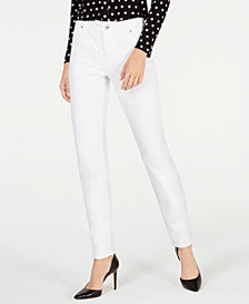 I.N.C. Petite Five-Pocket Skinny Jeans, Created for Macy's
