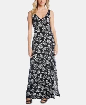 Karen Kane Dresses FLORAL-PRINT MAXI DRESS