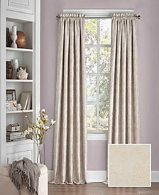 """Mallory Thermalayer Blackout Floral 52"""" x 95"""" Curtain Panel"""