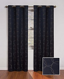 """Meridian Thermaback Blackout 42"""" x 108"""" Curtain Panel"""