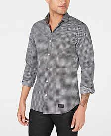 A|X Armani Exchange Men's Tiled Print Shirt