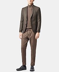 BOSS Men's Extra-Slim Fit Virgin Wool Blazer