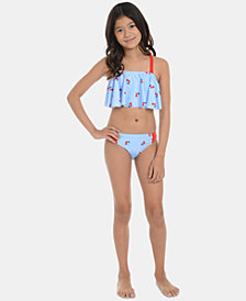 Tommy Hilfiger Big Girls 2-Pc. Lucia Swimsuit