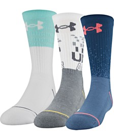 Under Armour Little Boys 3-Pk. Phenom 5.0 Crew Socks