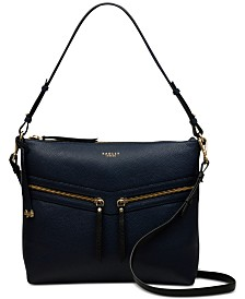 Radley London Smith Street Leather Zip-Top Shoulder Bag