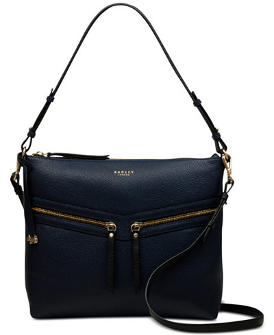 Radley London Smith Street Leather Zip-Top Shoulder Bag