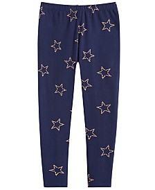 Epic Threads Big Girls Star-Print Leggings, Created for Macy's