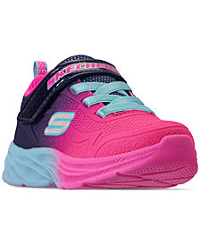 Skechers Toddler Girls' Lite Runner Slip-On Running Sneakers from Finish Line