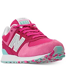 New Balance Girls' 574 Casual Sneakers from Finish Line
