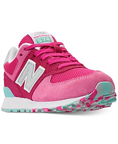 c1e0f052d9f81 New Balance Girls' 574 Casual Sneakers from Finish Line