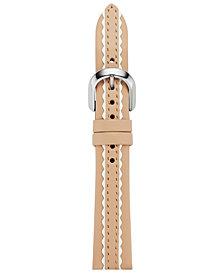 kate spade new york Women's Pale Vellum Leather Smart Watch Strap