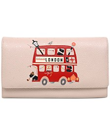 Radley London Party Bus Matinee Flapover Wallet