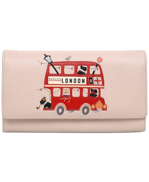5861cdc45e413 Radley London Party Bus Matinee Flapover Wallet   Reviews - Handbags ...