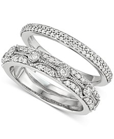 Diamond Enhancer Ring (1/2 ct. t.w.) in 14k White Gold