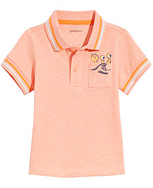 First Impressions Baby Boys Beach Pocket Cotton Polo, Created for Macy's