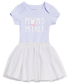 First Impressions Baby Girls Bunny Bodysuit and Tutu Separates, Created for Macy's
