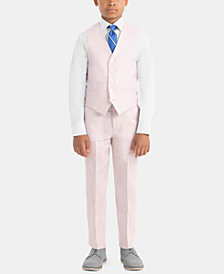 Lauren Ralph Lauren Little & Big Boys Contemporary Linen Vest & Pants Separates