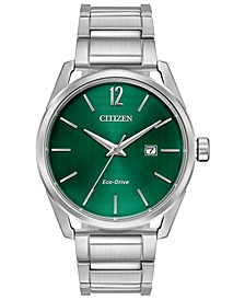 Drive From Citizen Eco-Drive Men's CTO Stainless Steel Bracelet Watch 42mm