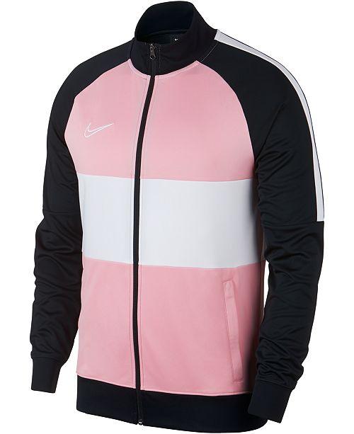 Nike Men's Academy Dri FIT Colorblocked Soccer Jacket
