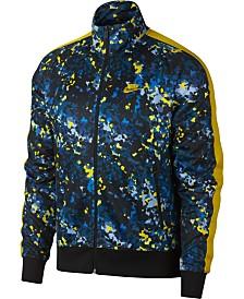 dc4e59e5e7a Nike Men s Sportswear Printed Track Jacket