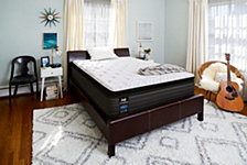 "Sealy Posturepedic Lawson 13.5"" Cushion Firm Euro Pillow Top Mattress Collection"