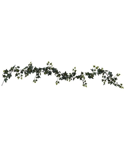 Nearly Natural 6' Sage Ivy Garland Artificial Plant, Set of 4