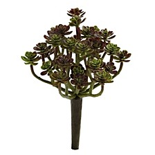"""7"""" Sedum Succulent Artificial Plant, Set of 8"""