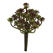 "Nearly Natural 7"" Sedum Succulent Artificial Plant, Set of 8"